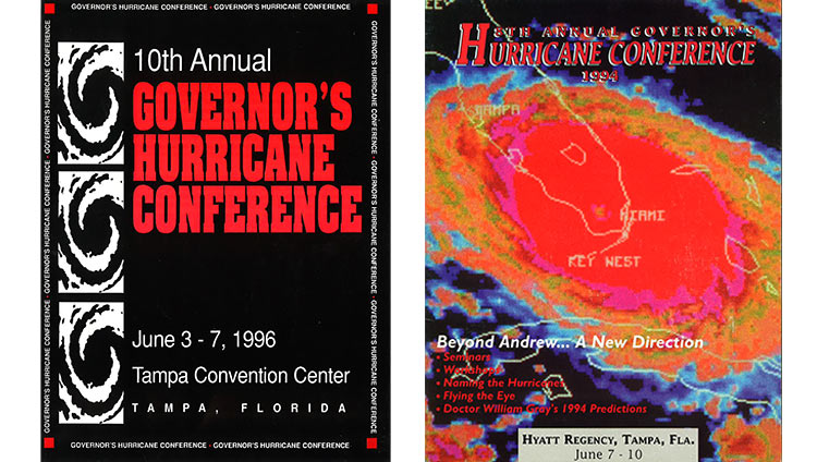 Florida Governor's Conference magazine covers