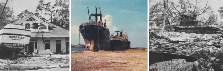 Read about Hurricane Camille (1969)
