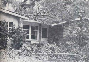 Hurricane Frederic aftermath, 1979