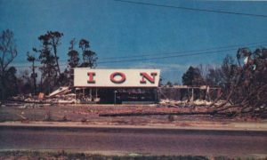 Hurricane Camille Aftermath, 1969
