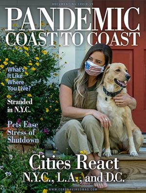 Pandemic Coast to Coast magazine cover